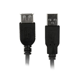 Cabo Extensor Usb 2.0 Am/Af 1,8 Mts Pluscable - PC-USB1802