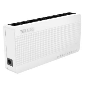 Switch Ethernet Tenda S108 8 portas 10/100Mbps
