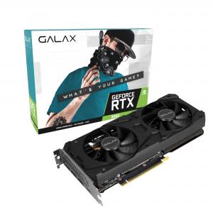 Placa de Vídeo Galax GeForce RTX 3060 1 Click OC 12GB GDDR6 192bits