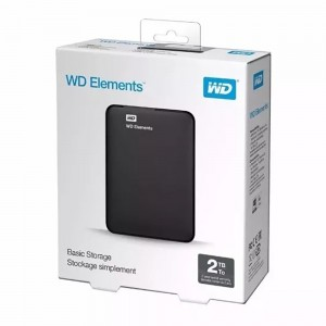 HD Externo Portátil WD Elements 2TB USB 3.0