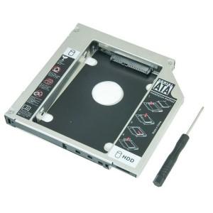 Adaptador Caddy Exbom DVD para SSD/HD Notebook 9,5mm
