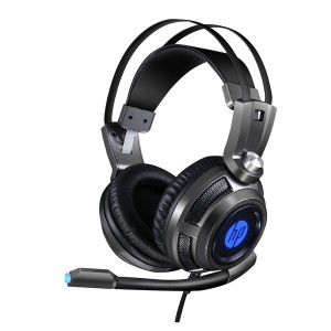 Headset Gaming HP H200 Stereo, 1 P2 + USB, LED