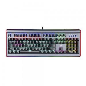 Teclado Mecânico Gaming HP GK520 Iluminação RGB