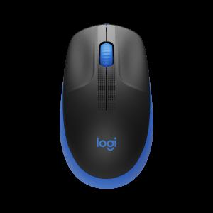 Mouse Sem Fio Logitech M190 USB RC Nano Azul