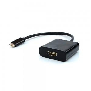 Cabo Adaptador Entrada USB Tipo-C Saída HDMI - ADP-303 - Pluscable
