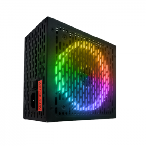 Fonte BRX Rainbow Series RGB 500W 80 Plus Bivolt Automática