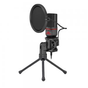 Microfone Gamer Redragon Seyfert Preto - GM100