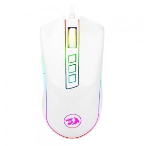 Mouse Gamer Redragon Cobra RGB Lunar White