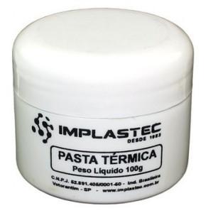 Pasta Termica Implastec Branca Pote 50 Gramas