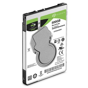 HD para Notebook Seagate BarraCuda 500GB SATA 3 128MB 5400RPM 7MM ST500LM030