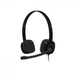 Headset Logitech H151 Preto 981-000587