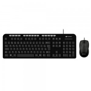 Teclado e Mouse USB C3Tech KT-100