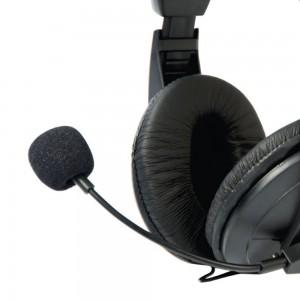 Fone de Ouvido c/ Microfone C3tech Voicer Comfort Ph-60, preto.