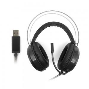 Fone De Ouvido Gamer C3tech Kestrel PH-G720 com Microfone, LED, Preto
