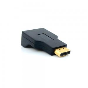 Adaptador Entrada DisplayPort Saída VGA - ADP-101 - Pluscable