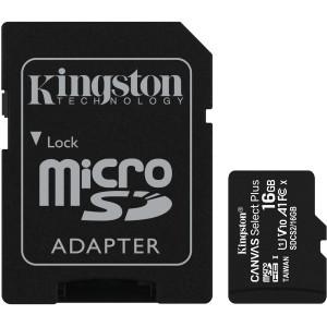 Cartão De Memoria Kingston SD HC 16gb 100MB/s Classe 10 c/ Adap.